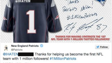 Photo of Patriots Apologize for Tweeting Racial Slur in Twitter Promotion