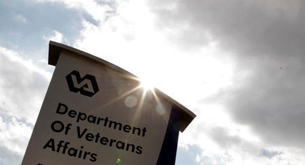 A sign for the Department of Veterans Affairs is shown. (AP Photo)
