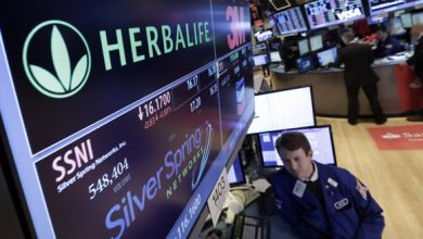 Photo of Herbalife Stock Drops 51% in 2014 Amid Falling Profit and Probes