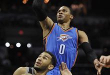 Photo of Westbrook Scores 34, Lifts Thunder Over Spurs