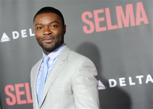 """Actor David Oyelowo attends the premiere of """"Selma"""" at the Ziegfeld Theatre on Sunday, Dec. 14, 2014, in New York. (Photo by Evan Agostini/Invision/AP)"""