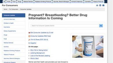 Photo of Pregnant Women to Get Better Info on Drug Risks