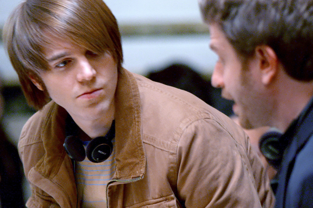 "Shane Dawson, director of ""Not Cool,"" an entry in the filmmaking competition series ""The Chair"" on Starz. (Courtesy of Starz)"