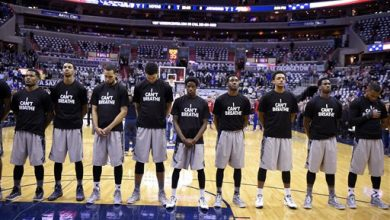 Photo of Georgetown Players Stage 'I Can't Breathe' Protest