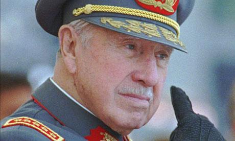 Augusto Pinochet in 1997 in Santiago, Chile (Santiago Llanquin/AP Photo)