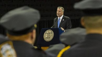 Photo of De Blasio's Nightmare