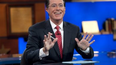 Photo of Stephen Colbert Retires His 'Report' and the Host He Played