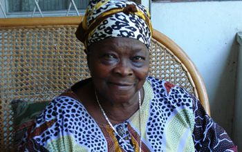 Photo of Widow of Congo's Independence-Era Hero Dies