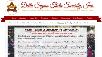 Photo of 2 Storied Black Sororities—AKA and Delta—Won't Let Their Members Protest While Wearing Greek Letters