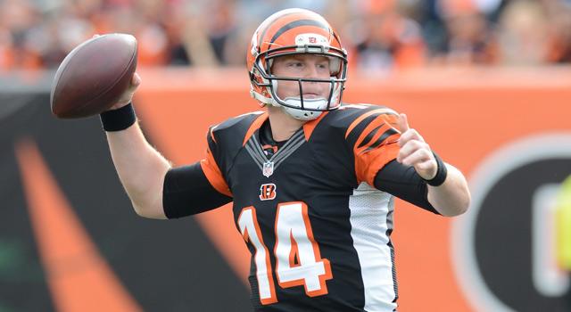 Cincinnati Bengals quarterback Andy Dalton (Evan Pinkus/Associated Press)