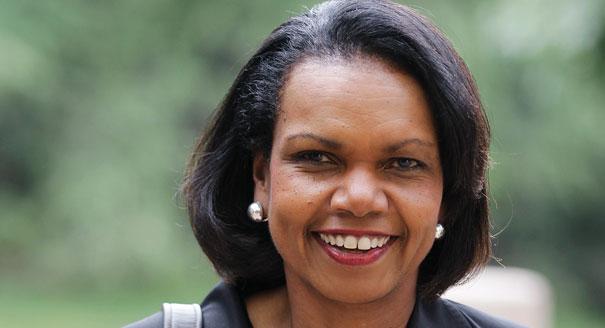 Condoleezza Rice on the Stanford University campus in Palo Alto, Calif. (AP Photo)
