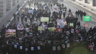 Photo of Tens of Thousands Protest Charlie Hebdo in Russia's Caucasas