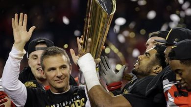 Photo of With 3rd Title, Urban Meyer Closes Gap on Nick Saban