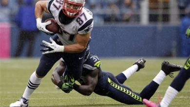 Photo of Gronkowski and Chancellor Make for Must-See Matchup