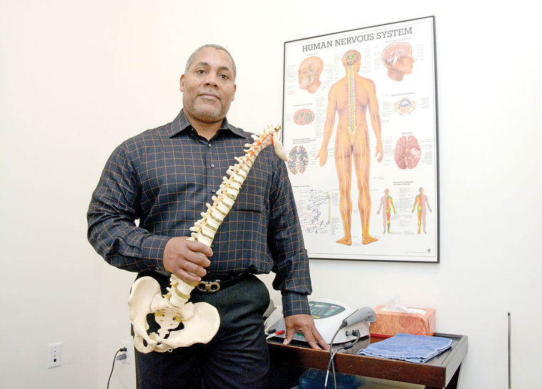 Michael Gerdine, DC of West End Chiropractic, recently moved into his Central West End location next to his detail shop at Boyle and Laclede in St. Louis. (Courtesy of St. Louis American)
