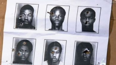 Photo of North Miami Police Use Faces of Black Men as Targets