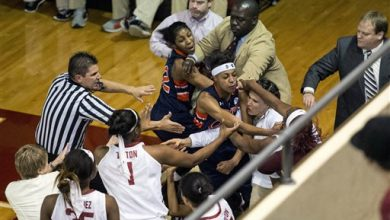 Photo of 3 Players Ejected After Fight During Alabama-Auburn Game