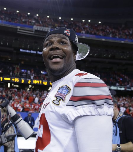 Photo of Ohio State's Cardale Jones Says He's Staying with Buckeyes