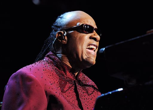 "In this Nov. 29, 2014 file photo provided by the Las Vegas News Bureau, Stevie Wonder performs in Las Vegas. Willie Nelson, Usher and Coldplay's Chris Martin will pay tribute to Stevie Wonder at a concert next month. The Recording Academy announced Wednesday, Jan. 14, 2015, that Ed Sheeran and Janelle Monae will also perform at ""Stevie Wonder: Songs In the Key of Life _ An All-Star GRAMMY Salute"" on Feb. 10. The concert will take place two days after the 57th annual Grammy Awards. (AP Photo/Las Vegas News Bureau, Brian Jones, File)"