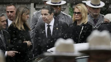Photo of Gov. Cuomo Eulogizes Dad Mario as a Crusader, Poet, Friend