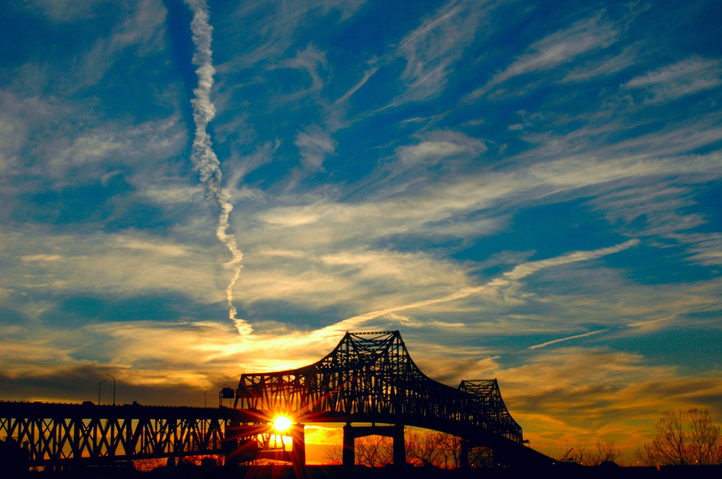 Horace Wilkinson Bridge in Baton Rouge, LA (Courtesy of Wikipedia)