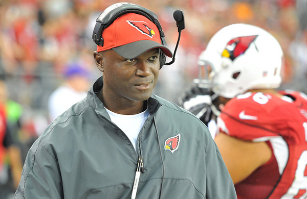 Arizona defensive coordinator Todd Bowles is set to interview with several NFL teams later this week. (AP Photo)