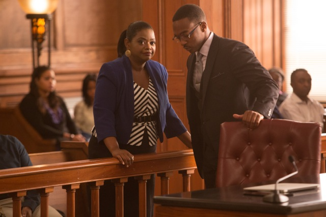 Octavia Spencer and Anthony Mackie co-star in the melodrama Black or White. (Courtesy Photo)