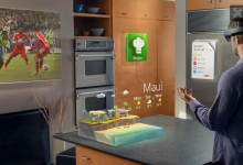 Photo of Microsoft's HoloLens is No Joke: My Reality Augmented with Skype, Minecraft