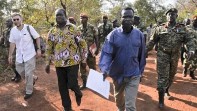 Photo of US Ambassador: Ugandan Rebel Commander Arrives at ICC