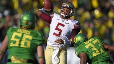 Photo of Jameis Game-Time Decision at NFL Combine