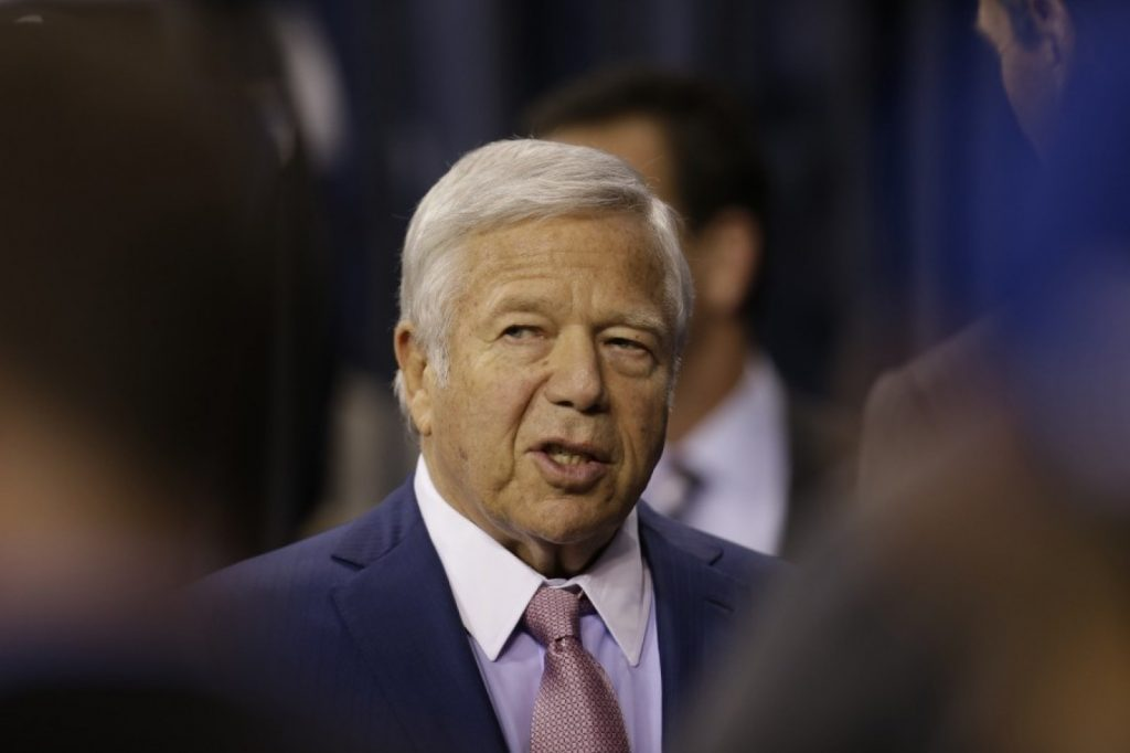 New England Patriots owner Robert Kraft (A.J. Mast/AP Photo)