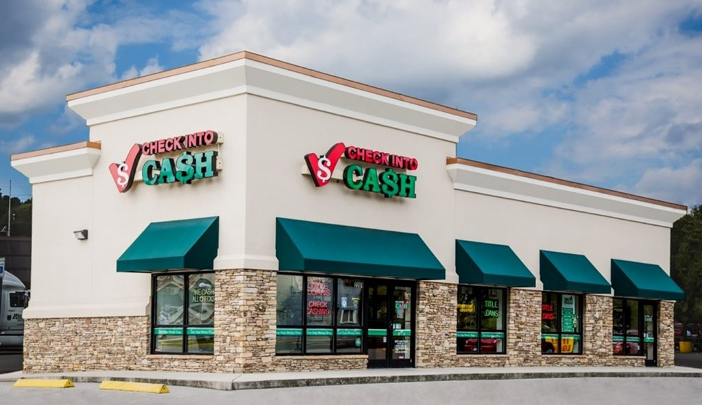 Payday lenders and pawn shops are more common in poor neighborhoods (Wikimedia Commons)