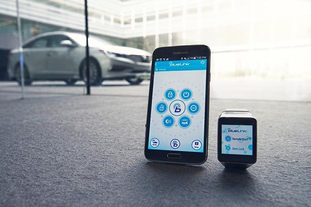 BlueLink App (promotional photo)
