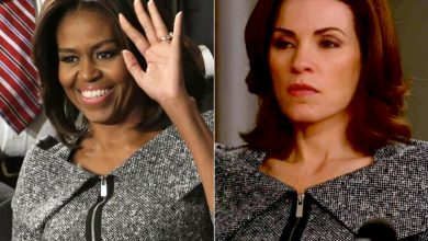 Photo of Michelle Obama gets fashion inspiration from TV hit 'The Good Wife'