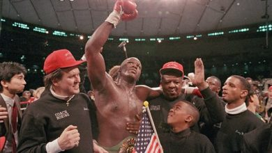 Photo of Buster Douglas: 'Belief' Led Him to Stunning Upset of Tyson