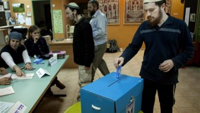 Photo of West Bank Settlers Vote Although Outside of Sovereign Israel