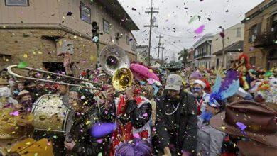 Photo of Mardi Gras' Fat Tuesday Revelry Kicks Off