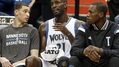 Photo of Timberwolves Rout Wizards 97-77 in Garnett's Emotional Return