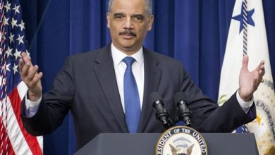 Photo of Holder Argues for Success of Drug Sentencing Policies
