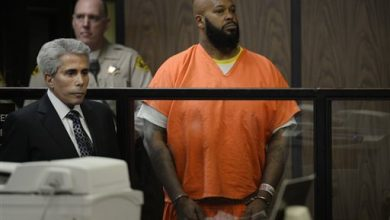 Photo of 'Suge' Knight Hospitalized After Not-Guilty Plea to Murder