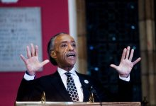 Photo of Sharpton Promotes the Black Vote in England