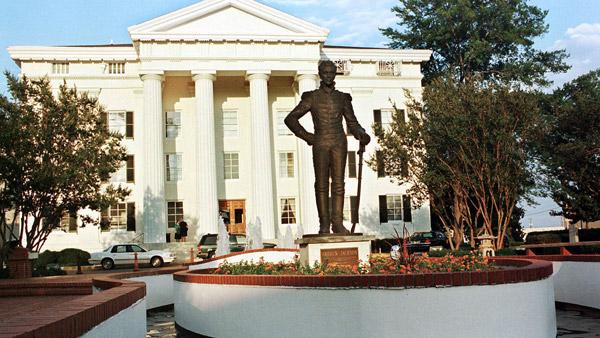 City Hall in Jackson. (AP Photo)