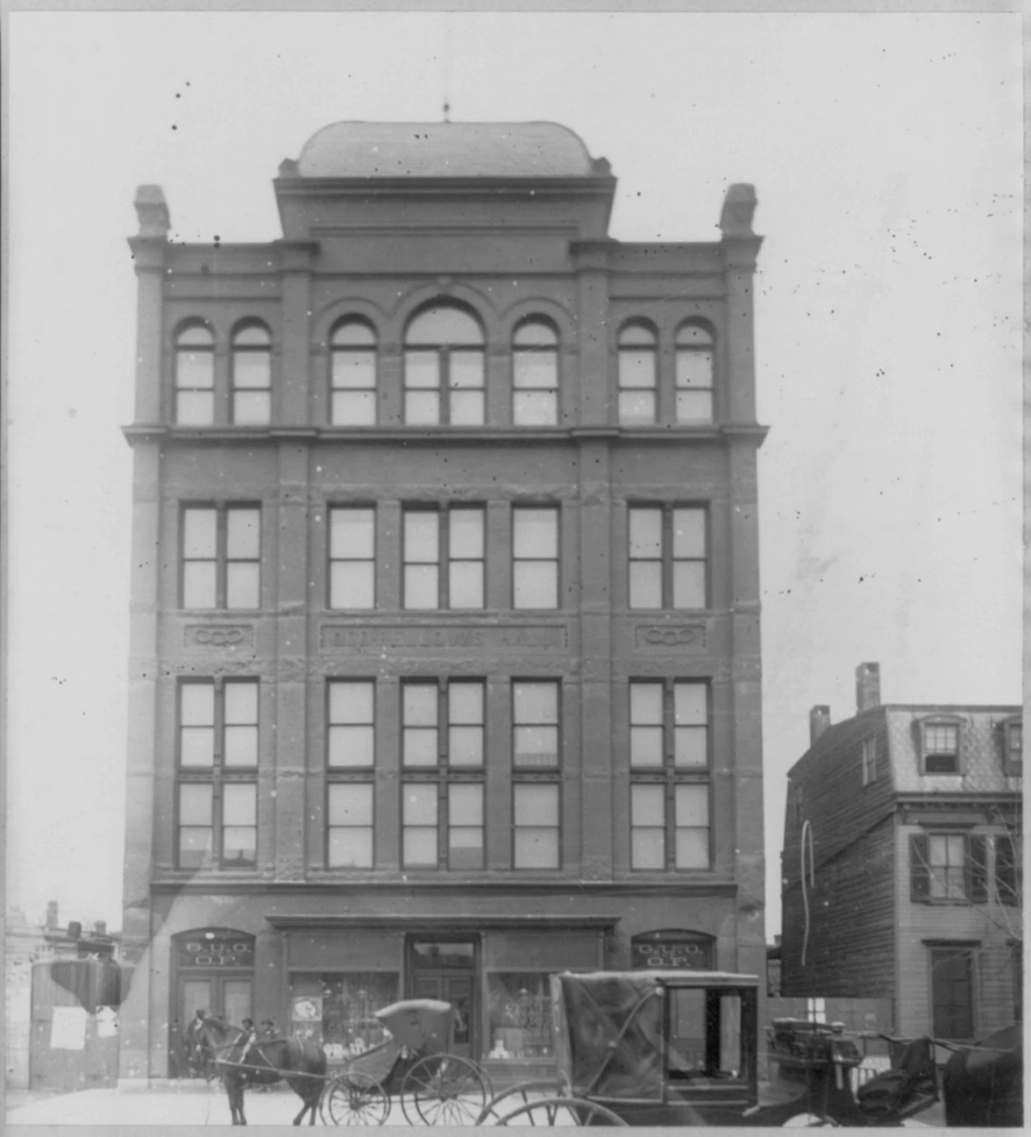 Capital Savings Bank, the first bank organized and operated by African Americans, was founded in Washington, D.C., on Oct. 17, 1888. (Library of Congress)