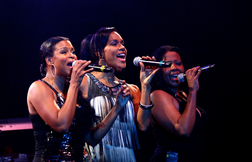 En Vogue at the PNE Vancouver Summer Night Concert Series in 2009. (Ron Sombilon/Flickr/Creative Commons)
