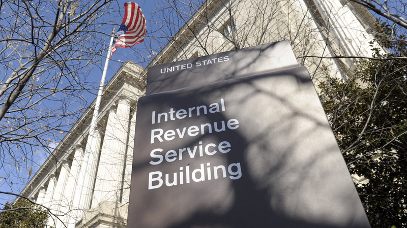 The exterior of the Internal Revenue Service building in Washington, D.C. (Susan Walsh/AP)