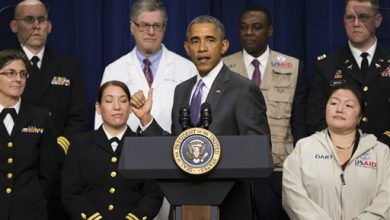 Photo of Obama Says US Has 'Risen to the Challenge' of Fighting Ebola