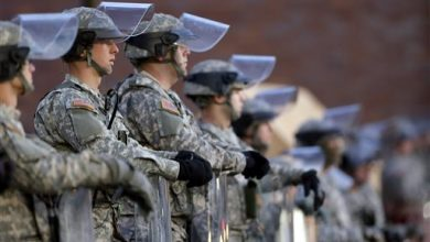 Photo of Missouri National Guard's Term for Ferguson Protesters: 'Enemy Forces'