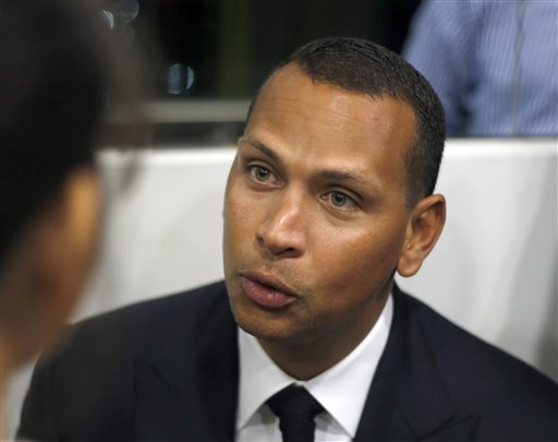 """In this Jan. 16, 2014, file photo, Alex Rodriguez speaks during a news conference in Cancun, Mexico. Alex Rodriguez has issued a handwritten apology """"for the mistakes that led to my suspension"""" but has turned down New York's offer to use Yankee Stadium for a news conference and has failed to detail any specifics about his use of performance-enhancing drugs. (AP Photo/Israel Leal, File)"""