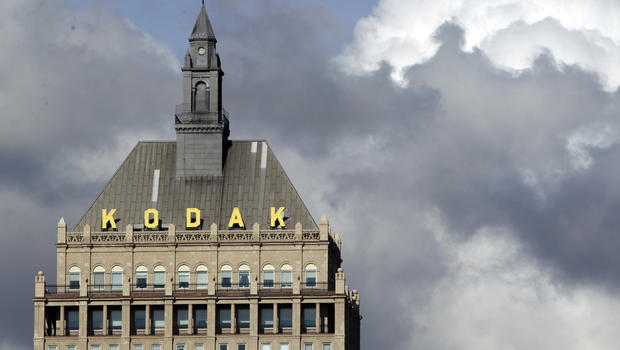 In this Oct. 3, 2011 file photo, Kodak headquarters is shown in Rochester, N.Y. (AP Photo/David Duprey)
