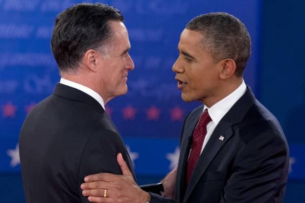 Mitt Romney and President Barack Obama in 2008 (AP Photo/Carolyn Kaster)